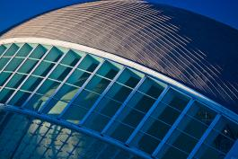 Partial Picture, City of Arts and Sciences in Valencia, Spain