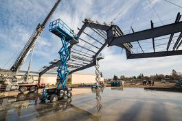 Image of Steel Frame to Green Acres Elk Grove